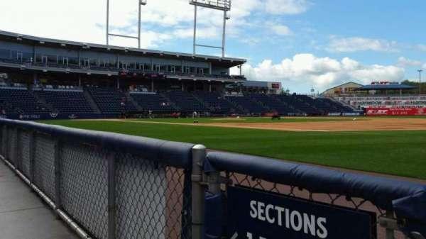 PNC Field, vak: 13, rij: 1, stoel: 16