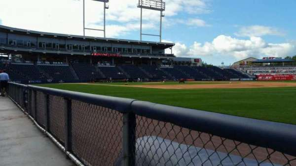 PNC Field, vak: 13, rij: 1, stoel: 1