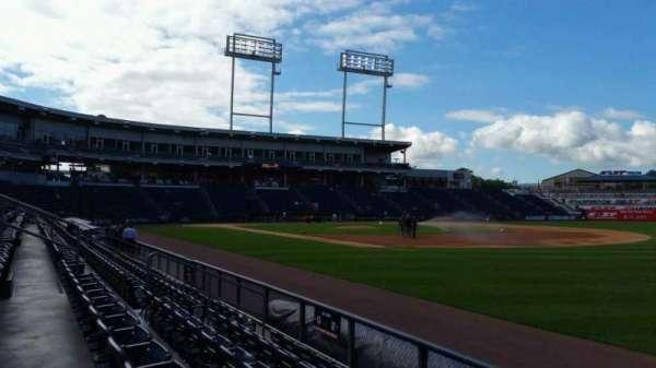 PNC Field, vak: 12, rij: 5, stoel: 1