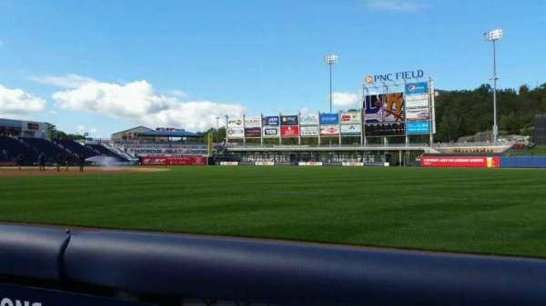 PNC Field, vak: 11, rij: 1, stoel: 16