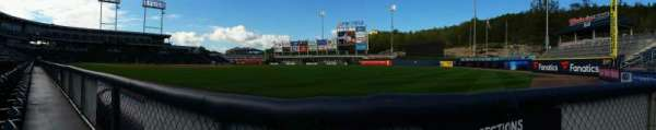 PNC Field, vak: 11, rij: 1, stoel: 1