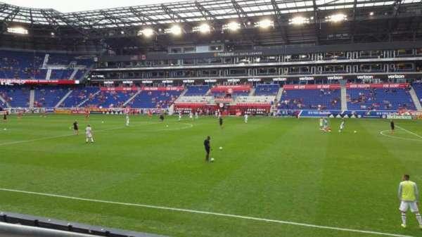 Red Bull Arena, vak: 124, rij: 7, stoel: 35