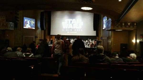 State Theatre New Jersey, vak: Orchestra, rij: AA, stoel: 4