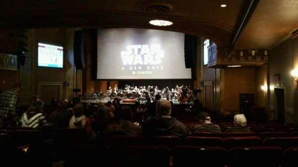 State Theatre New Jersey, vak: Orchestra, rij: AA, stoel: 6