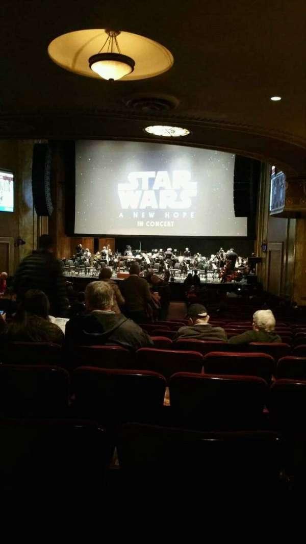 State Theatre New Jersey, vak: Orchestra, rij: AA, stoel: 10