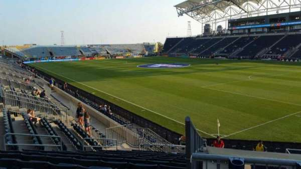 Talen Energy Stadium, vak: 121, rij: R, stoel: 11
