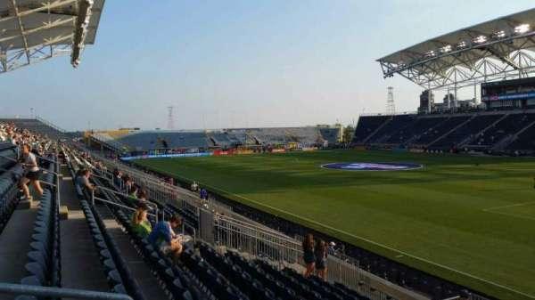 Talen Energy Stadium, vak: 121, rij: R, stoel: 21
