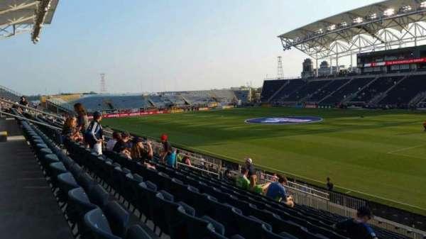Talen Energy Stadium, vak: 122, rij: T, stoel: 1