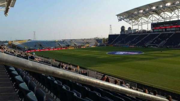 Talen Energy Stadium, vak: 122, rij: T, stoel: 20