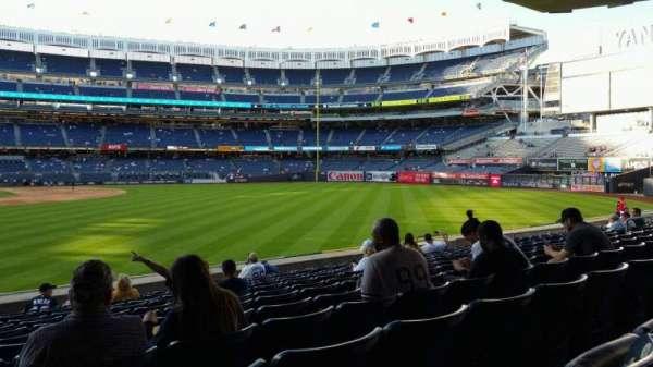 Yankee Stadium, vak: 105, rij: 12, stoel: 24