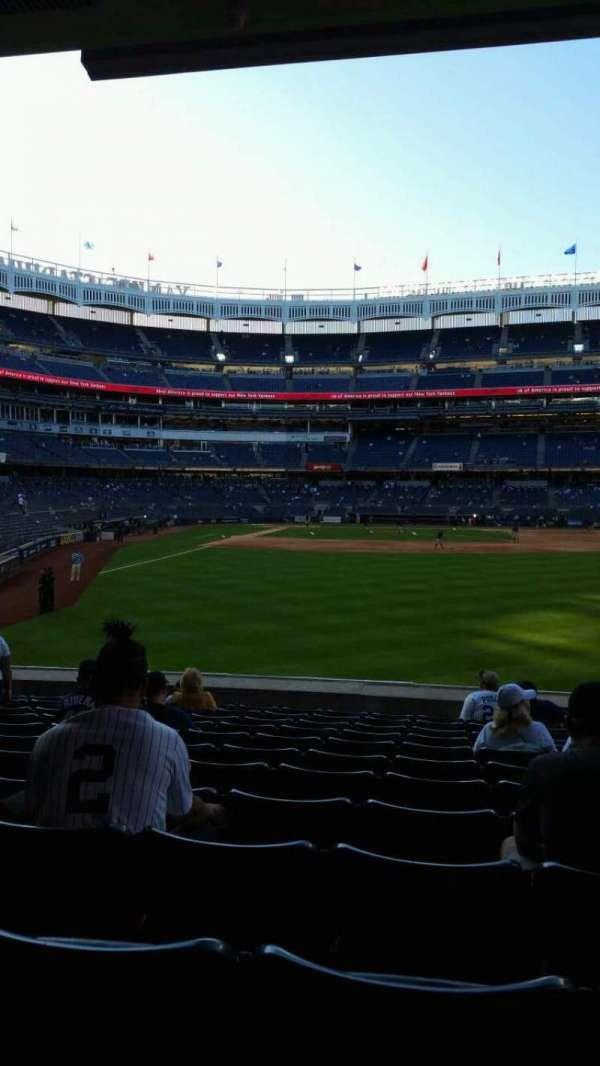 Yankee Stadium, vak: 105, rij: 12, stoel: 13