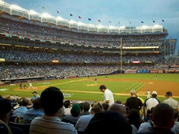 Yankee Stadium, vak: 115, rij: 26, stoel: 5