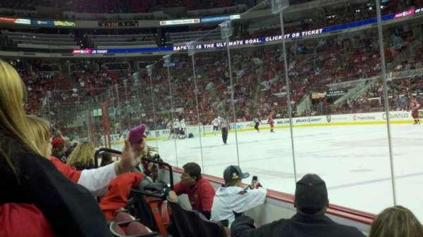 PNC Arena, vak: 117, rij: C, stoel: 5