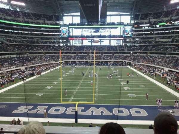 AT&T Stadium, vak: 248, rij: 3, stoel: 12
