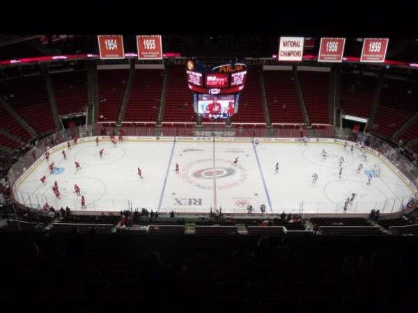 PNC Arena, vak: 304, rij: M, stoel: 14
