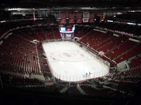 PNC Arena, vak: 316, rij: J, stoel: 6