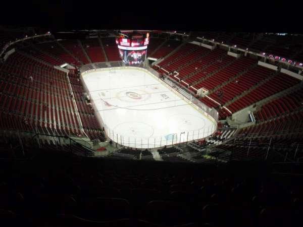 PNC Arena, vak: 316, rij: N, stoel: 7