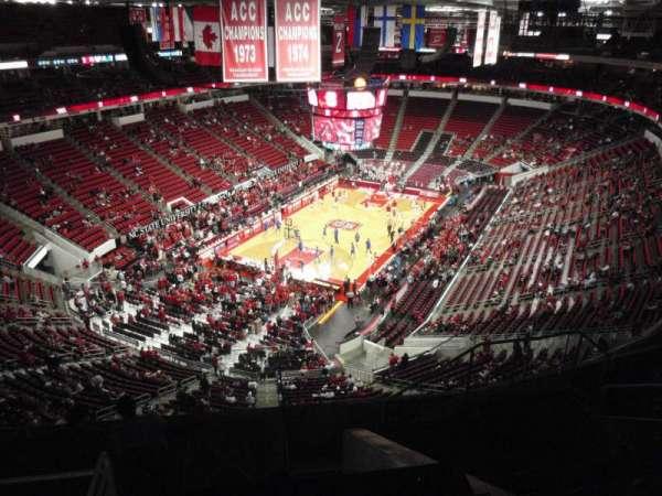 PNC Arena, vak: 331, rij: H, stoel: 7
