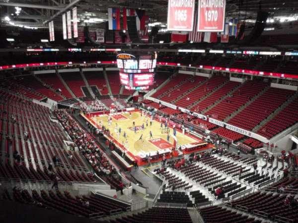 PNC Arena, vak: 336, rij: A, stoel: 5