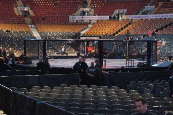 Scotiabank Arena, vak: 117, rij: 5, stoel: 1
