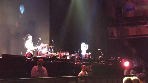 Infinite Energy Arena, vak: FL02, rij: C, stoel: 20