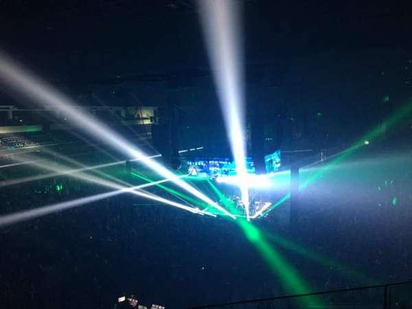 Infinite Energy Arena, vak: 201, rij: C, stoel: 18