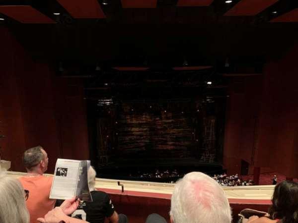 San Diego Civic Theatre, vak: BALCL1, rij: R, stoel: 7