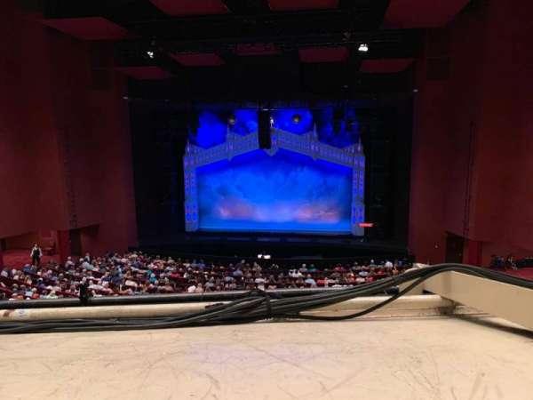 San Diego Civic Theatre, vak: MEZZR1, rij: O, stoel: 14