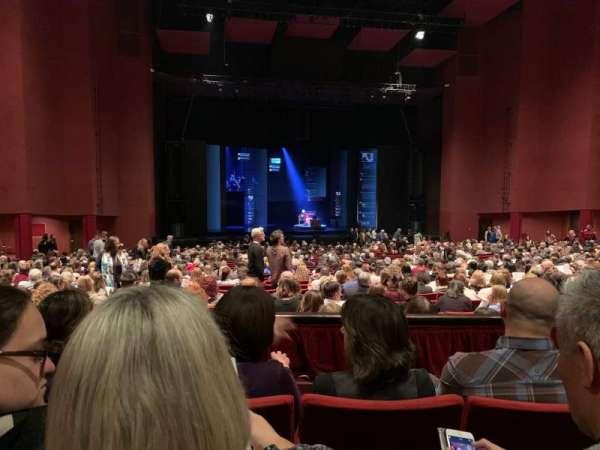 San Diego Civic Theatre, vak: Dress Circle L1, rij: C, stoel: 21