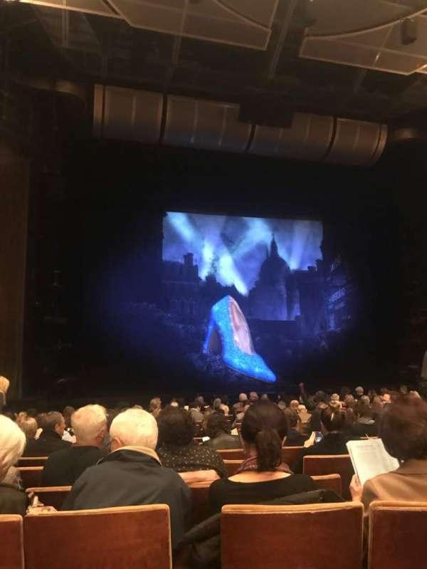 Ahmanson Theatre, vak: Orchestra, rij: N , stoel: 41