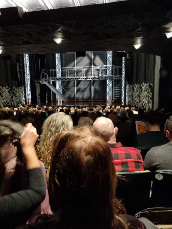 Trafalgar Theatre, vak: Stalls, rij: P, stoel: 5