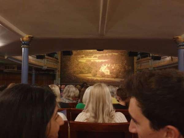 Harold Pinter Theatre, vak: Stalls, rij: R, stoel: 11