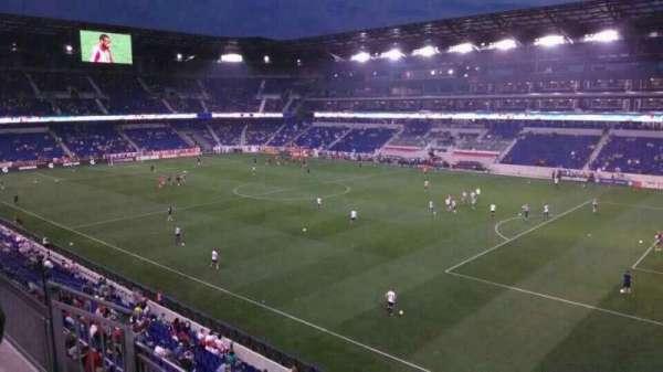 Red Bull Arena, vak: 223, rij: 4, stoel: 3