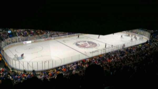 Old Nassau Veterans Memorial Coliseum, vak: 307, rij: S, stoel: 11