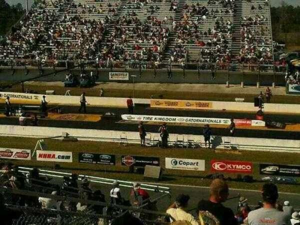 Gainesville Raceway, vak: A, rij: 29, stoel: 12
