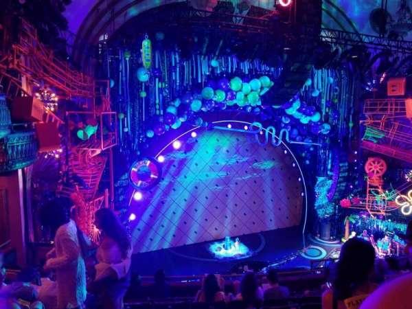 Palace Theatre (Broadway), vak: Mezzanine, rij: G, stoel: 17