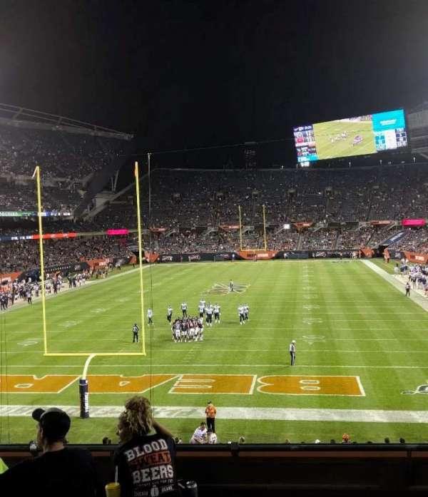 Soldier Field, vak: 221, rij: 6, stoel: 8