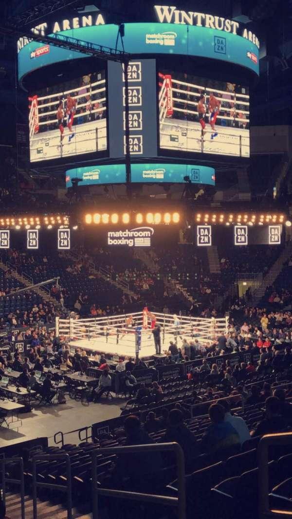 Wintrust Arena, vak: 113, rij: N, stoel: 2