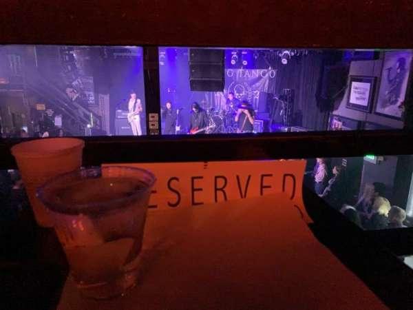 Whisky A Go Go, vak: Reserved, rij: Rail