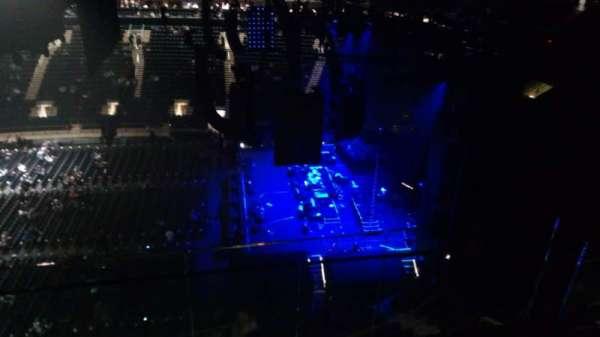 Madison Square Garden, vak: 314, rij: BS3, stoel: 16