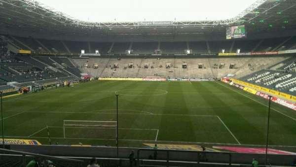 Borussia Park, vak: 4, rij: 26, stoel: 1