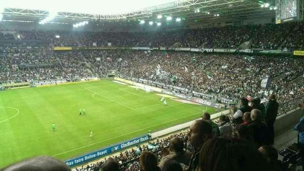 Borussia Park, vak: 10A, rij: 4, stoel: 15