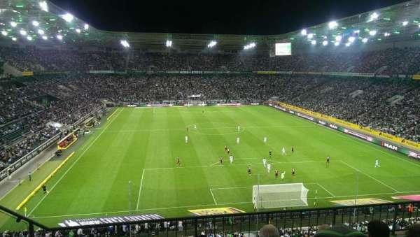 Borussia Park, vak: 3A, rij: 4, stoel: 10