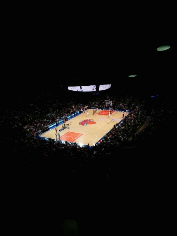 Madison Square Garden, vak: 419, rij: 6, stoel: 9