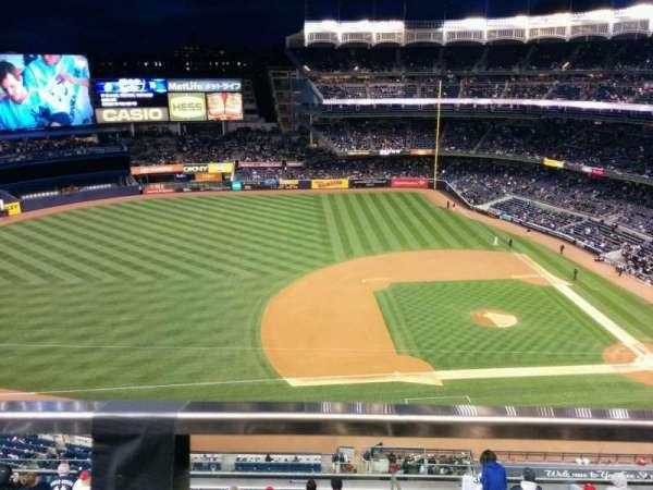Yankee Stadium, vak: 425, rij: 1, stoel: 18