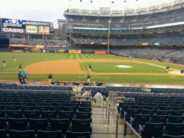 Yankee Stadium, vak: 125, rij: 25, stoel: 1
