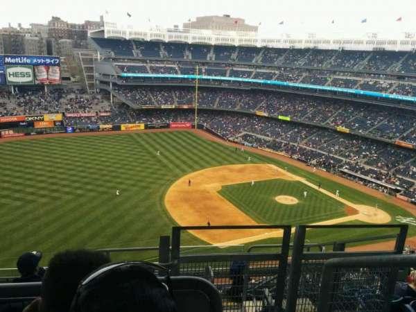 Yankee Stadium, vak: 428, rij: 8, stoel: 1