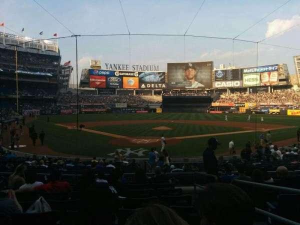 Yankee Stadium, vak: 120a, rij: 20, stoel: 2