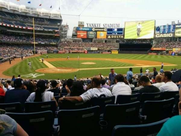 Yankee Stadium, vak: 118, rij: 24, stoel: 5