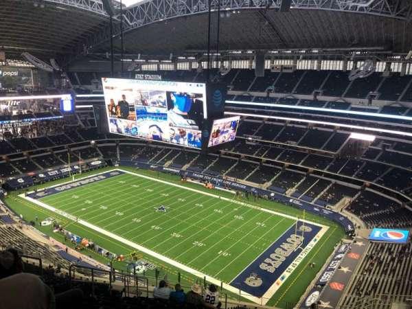 AT&T Stadium, vak: 406, rij: 25, stoel: 17